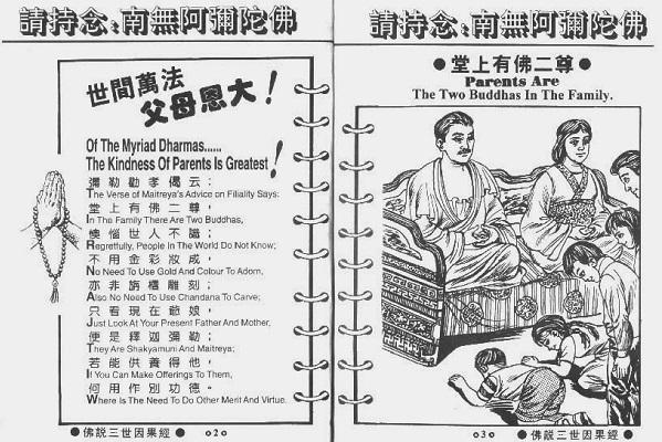 Buku Sutra Hukum Sebab Akibat Didalam Agama Buddha